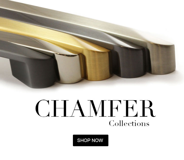 chamfer cabinet hardware collections pulls