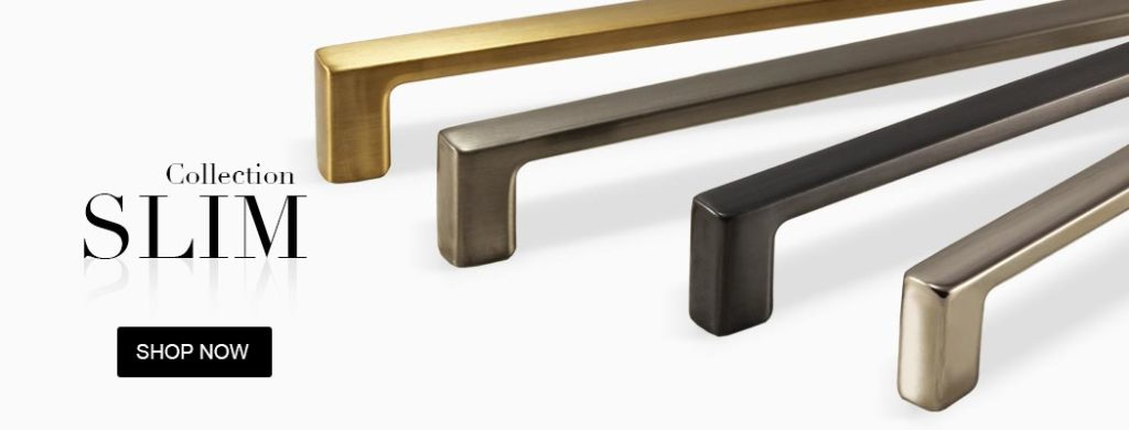 slim cabinet hardware collections pulls
