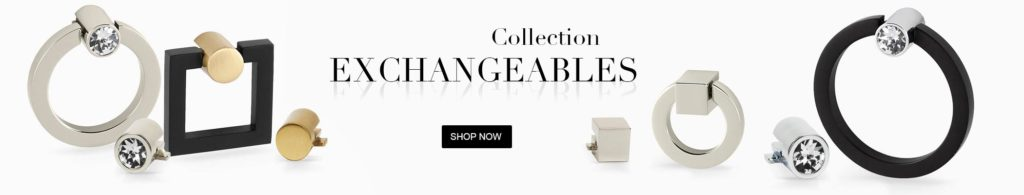 exchangeables cabinet hardware collections ring & square pulls